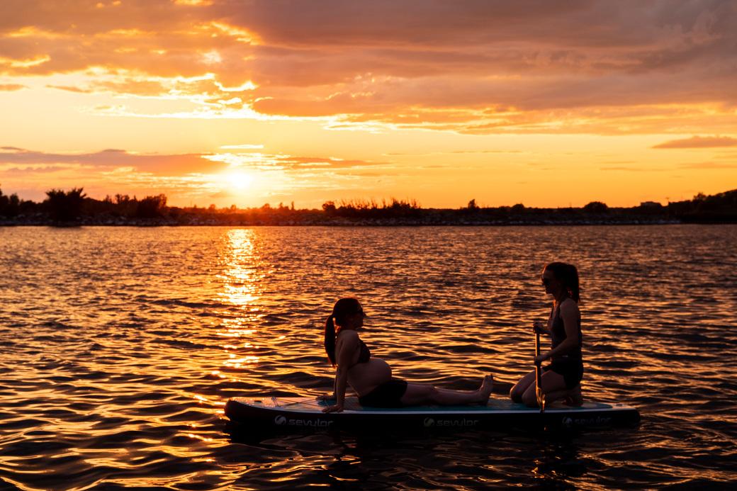 SUP_Maternity_photos_lake_sunset_ygk_kingston_rob_whelan_LGBTQ_lovewins